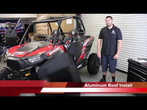 Pro Armor Xp1000 Aluminum Roof Install Youtube