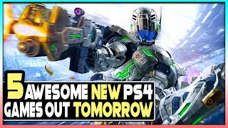 5 AWESOME NEW PS4 GAMES OUT TOMORROW - BIG MULTIPLAYER GAME, 2 GREAT REMASTERS + MORE!