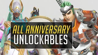 ALL ANNIVERSARY UNLOCKABLES (No Commentary)