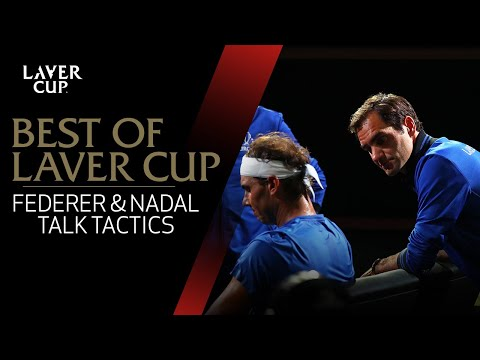 Federer and Nadal talk team tactics | Laver Cup 2017