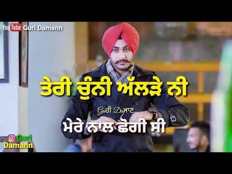 "!!Teri Chunni!! By ""Rajvir Jawanda"" New Punjabi Song Latest Full Vedio"