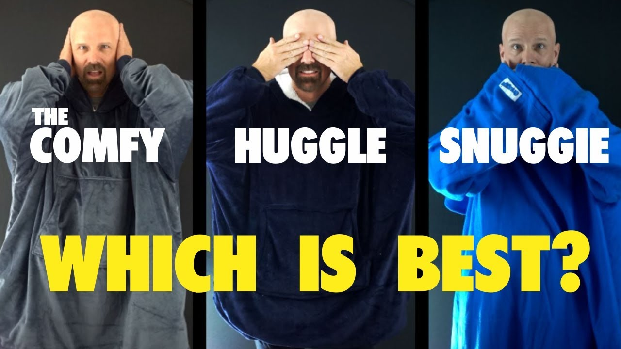 The Comfy Vs Huggle Vs Snuggie Which Is Best Youtube