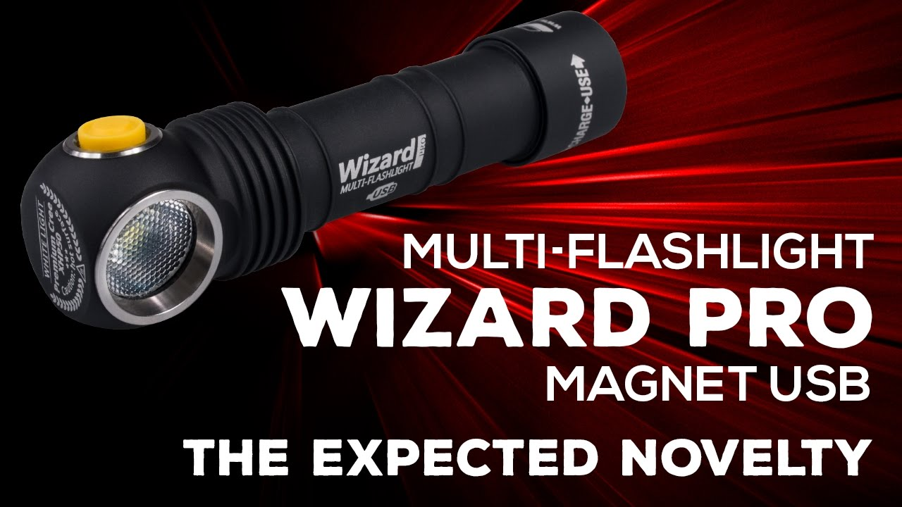 Armytek Wizard Pro Magnet Usb The Expected Novelty Youtube