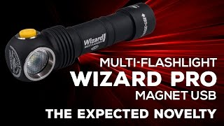 armytek Wizard Magnet USB - the expected novelty