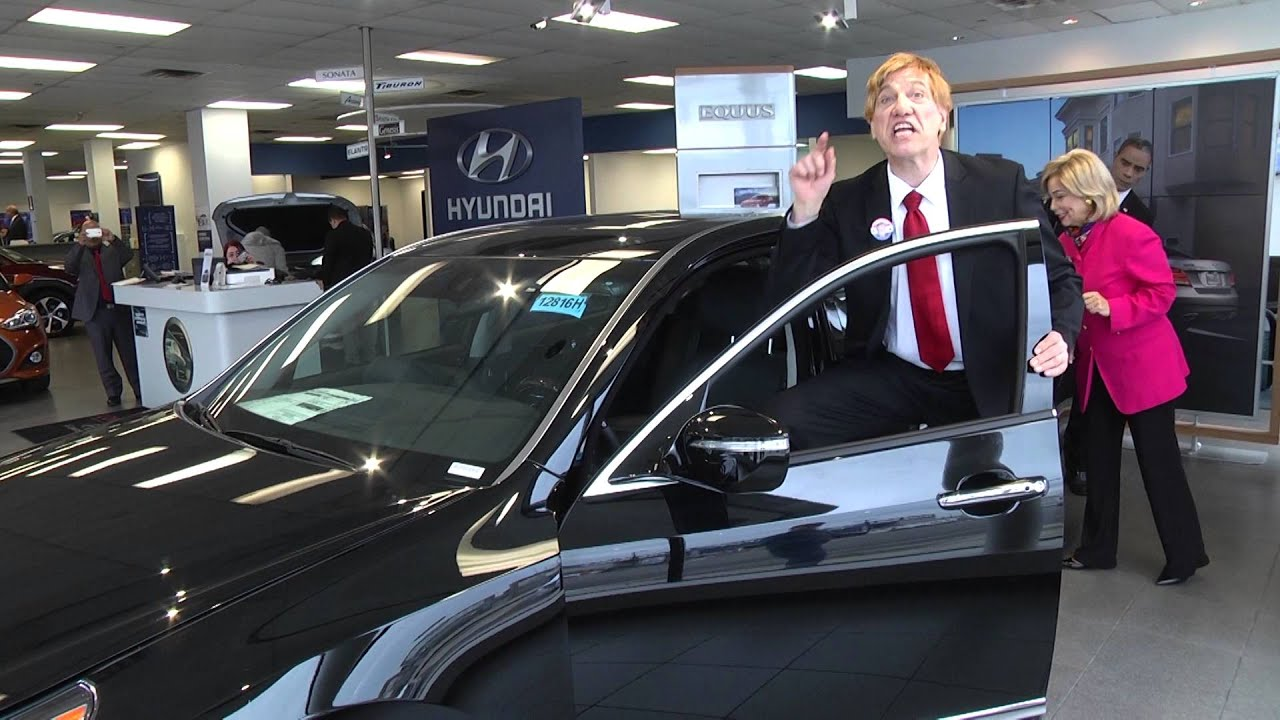 donald trump says it 39 s fabulous 2016 equus at hyundai of long island city ny youtube. Black Bedroom Furniture Sets. Home Design Ideas