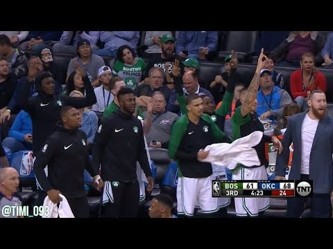 Al Horford: three 3-pointers in 41 seconds