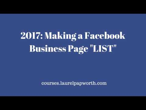 2017 How to Create and Use Facebook Lists (the old way has gone).