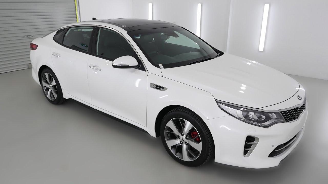 White Kia Optima >> Kia Optima Gt Snow White Pearl Auto K151195