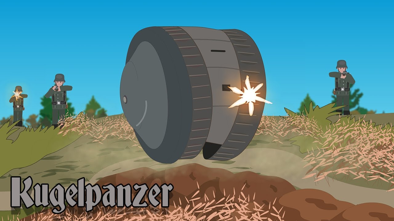 Kugelpanzer Ball Tank (Strangest Tanks in History)