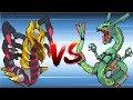 Pokemon Giratina & Dialga & Palkia vs Rayquaza & Groudon & Kyogre