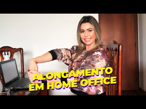ALONGAMENTO EM HOME OFFICE #MultiFit