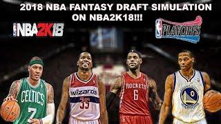 2018 NBA RE-DRAFT SEASON & PLAYOFF Simulation on NBA2K18!!!