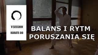 Balans i rytm poruszania się.