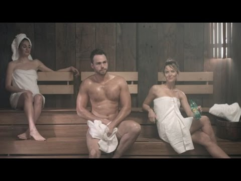 The Sauna (Video 1) | Lipton Ice Tea | #CoolAsACucumber