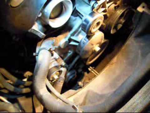 02 tahoe water pump replacement