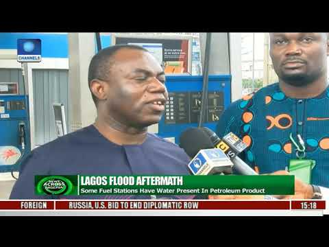 News Across Nigeria: Lagos Flood Causes DPR To Seal Fuel Stations In Lekki