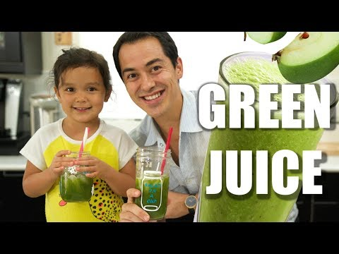 How to make Green JuiceEasy Recipe for Kids