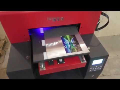 УФ печать. Обзор уф принтера. Тест на разных материалах.