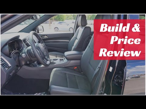 2020 Dodge Durango RT AWD - Build & Price Review: Configurations, Packages, Specs, Interior, Trims