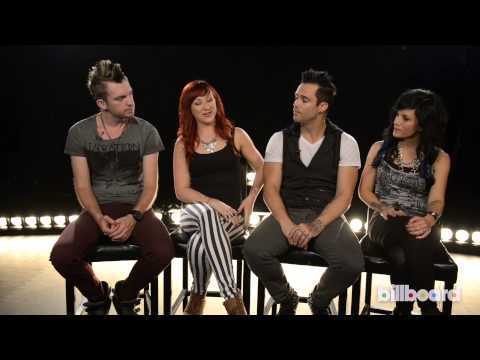 Skillet Talks 'Rise' At Billboard Studios
