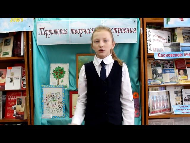 Изображение предпросмотра прочтения – СветаАндронова читает произведение «Зимнее утро» А.С.Пушкина