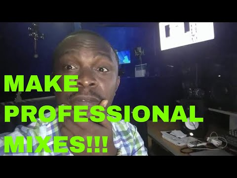 Why Your Music Mixes Do Not Sound Professional Part 1
