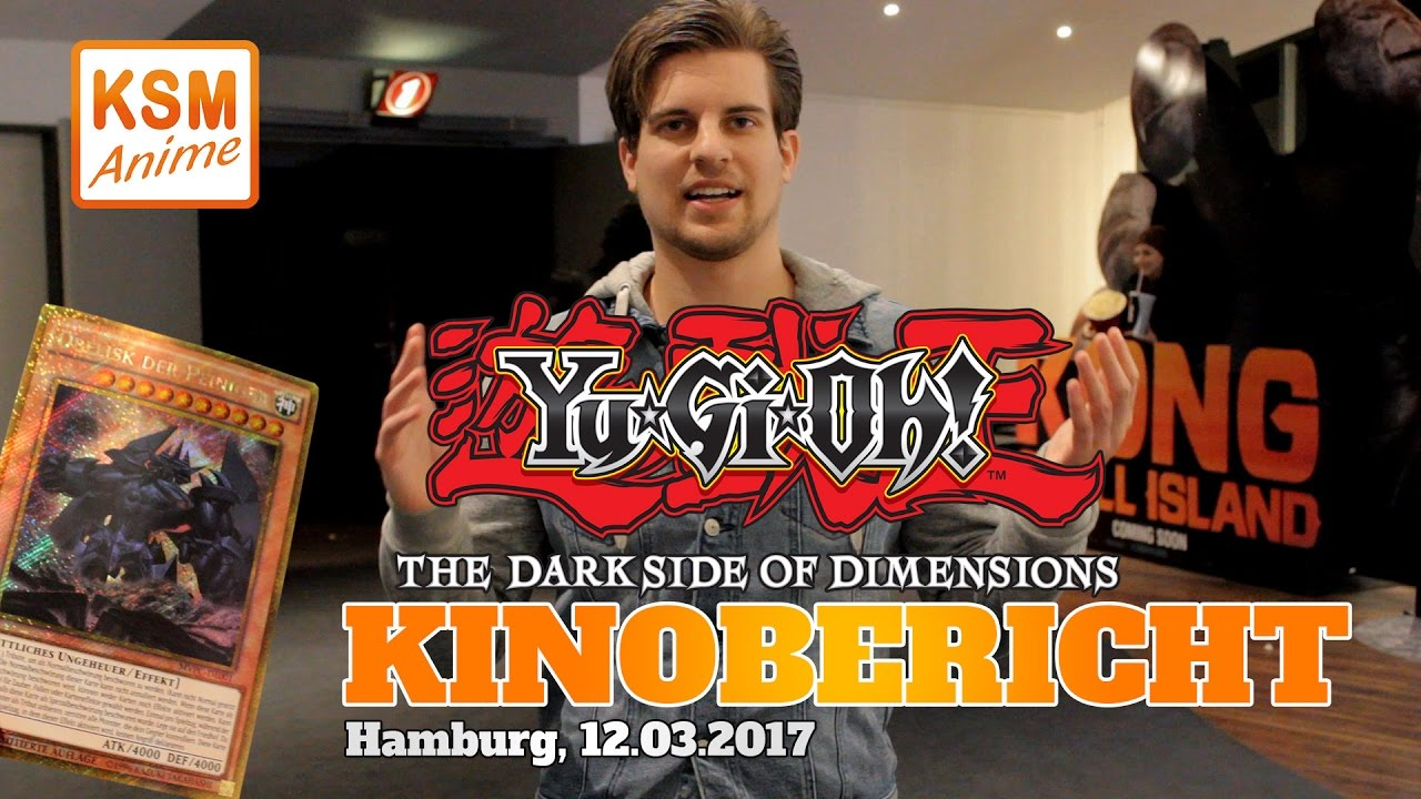 Kinobericht Yu Gi Oh The Dark Side Of Dimensions Hamburg 12317