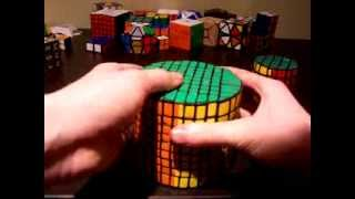 9x9 barrel cube (Former World Record)