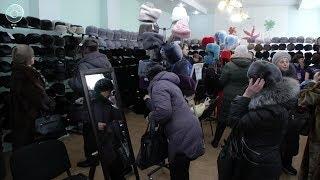 Выгодное предложение. Оригинальную акцию покупки изделий их меха проводят на выставке ''Тысяча шапок''