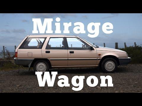 1992 Mitsubishi Mirage GLX Wagon: Regular Car Reviews