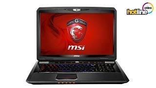 Обзор игрового ноутбука MSI GT70