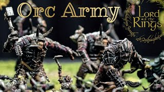 The Lord Of The Rings Warhammer Middle Earth Sbg - Evil Mordor Orc Army