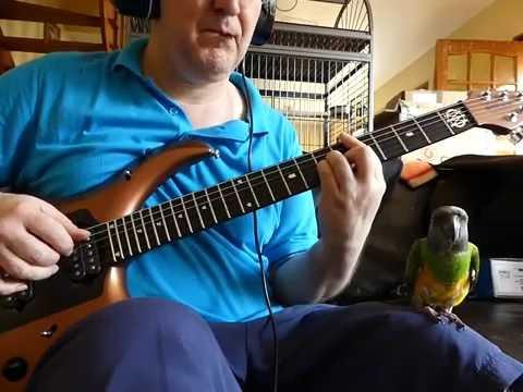 PORCUPINE TREE Radioactive Toy Backing Track Wilson Guitar