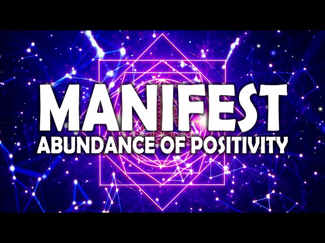 Law Of Attraction ! Meditation For Shifting Reality ! Manifest All You Want Positively in Abundance