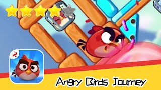 Angry Birds Journey 18-19 Walkthrough Fling Birds Solve Puzzles Recommend index four stars