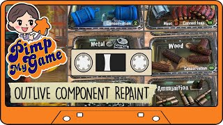 OUTLIVE BOARD GAME COMPONENT REPAINT WALKTHROUGH - How to paint board game components