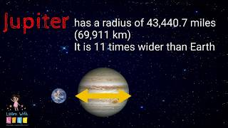 Planet Jupiter for kids - Learn Science and Solar System facts