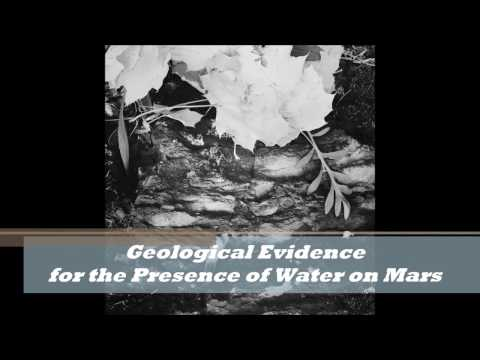 Geological Evidence for Water on Mars