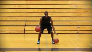 "BASKETBALL DRIBBLE DRILL : Two Ball Drill ""Alternating Double Dribble"" - Shot Science"