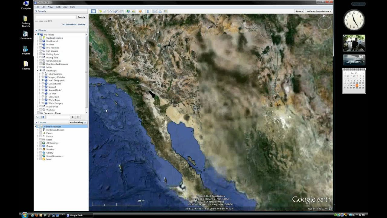 Google Earth Topographic Maps for Fishing - Summary