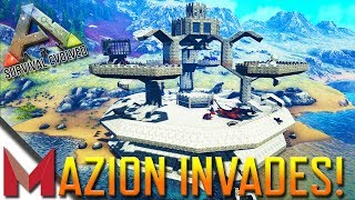 MAZION INVADES DARKLING'S MOST EPIC BUILDS! -=- ARK: SURVIVAL EVOLVED GAMEPLAY -=- Ep19