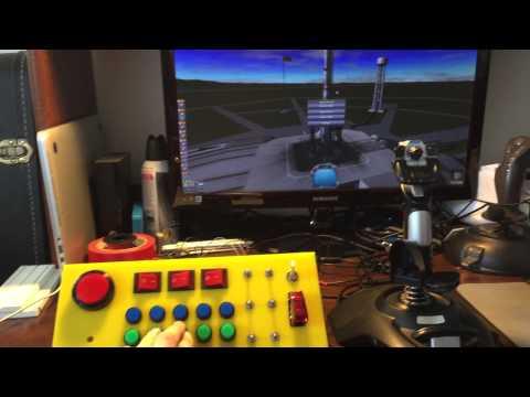 DIY KSP/Flight Sim Control Panel