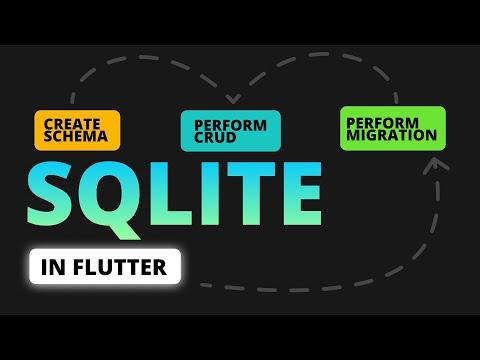 SQLite in Flutter