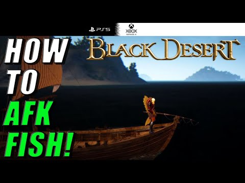 Fishing Basics on Black Desert Xbox