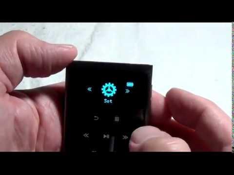 AGPtEK IMP HiFi class 16GB Touch Button Control MP3 Player Review