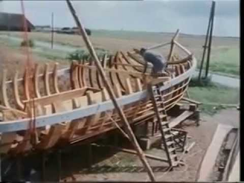 Van boom tot Botter (Building traditional wooden fishing sailboat)