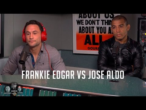 Frankie Edgar & Jose Aldo Talk UFC 200 & Mcgregor w/ Rosenberg