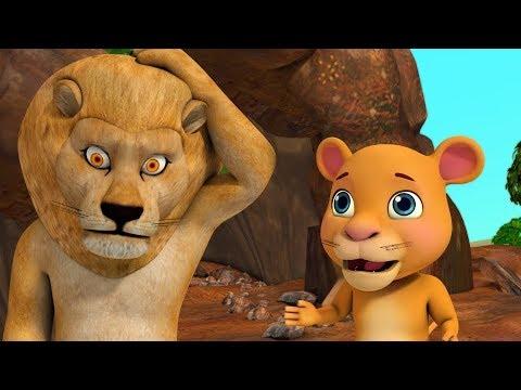 Download Little Sheru Learns To Roar Hindi Kahaniya | Hindi Stories for Children | Infobells