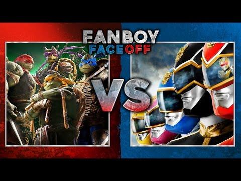 Teenage Mutant Ninja Turtles vs Power Rangers: Fanboy Faceoff