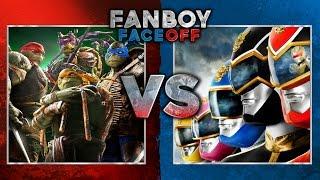 Teenage Mutant Ninja Turtles vs Power Rangers: Fanboy Faceoff Subsc...